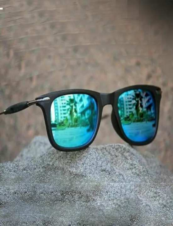 Shaded Blue Sun Glasses