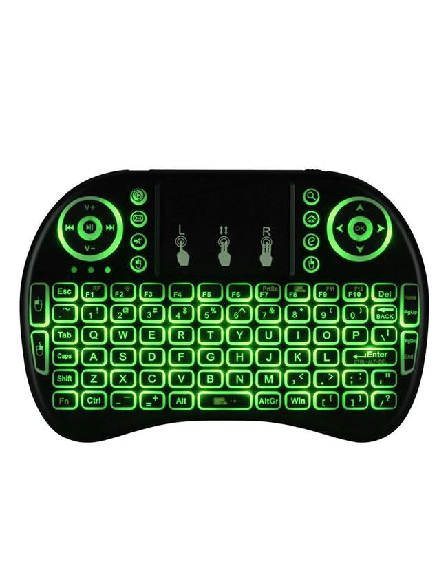 Lighting Mini Keyboard With Mousepad(Touch) - Wireless