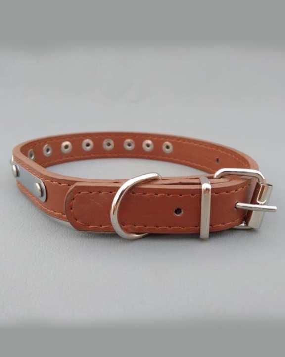 Dog Collar - Adjustable - Color Brown