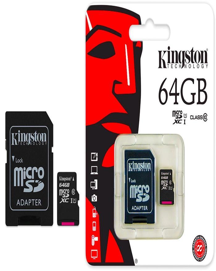 64Gb Memory Card Class 10