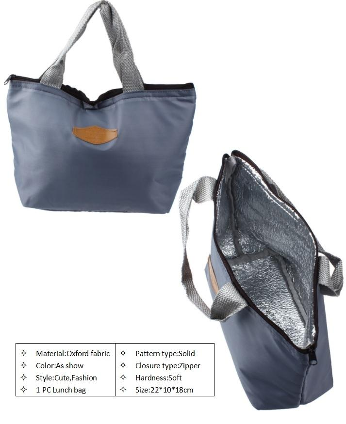 Thermal Insulation Waterproof Lunch Bag - Portable