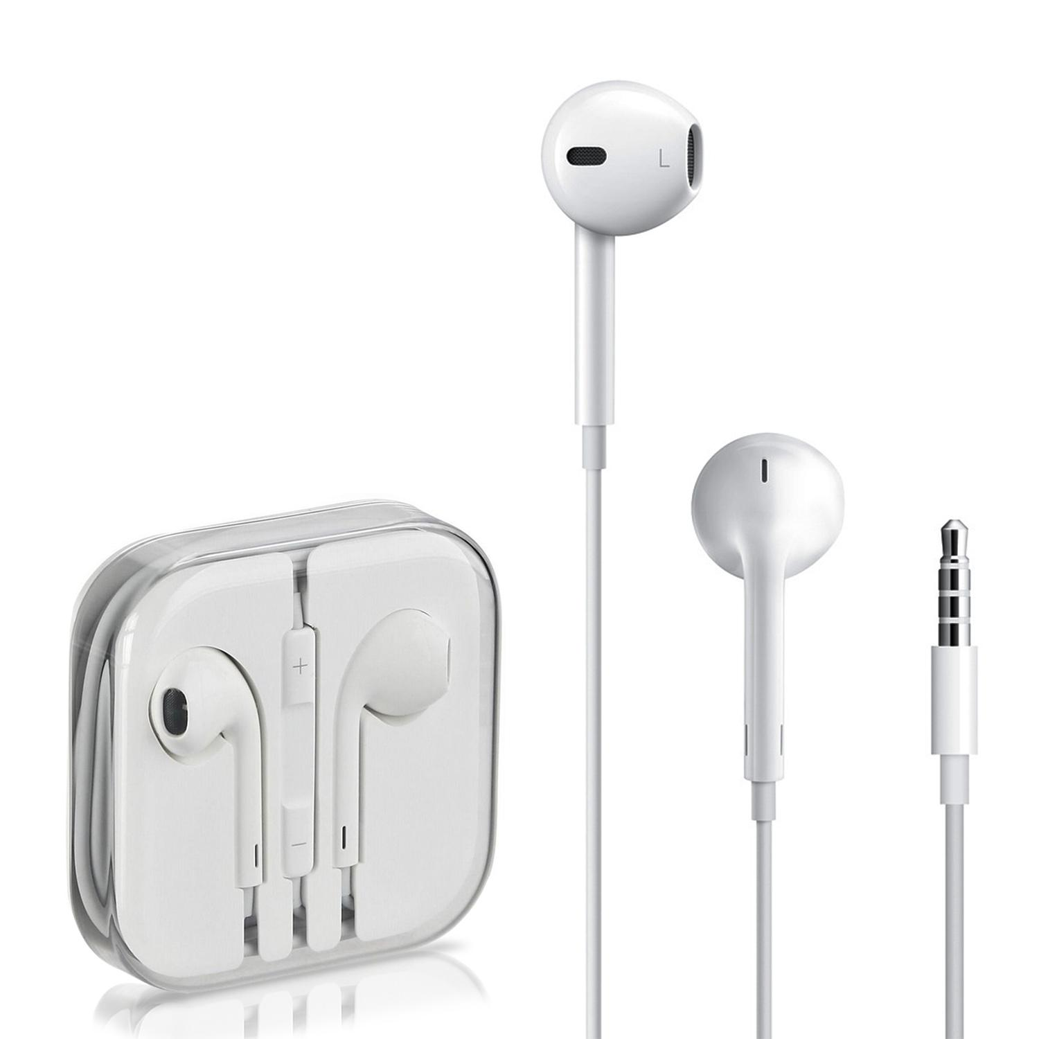 Original Apple EarPods with 3.5 mm Headphone Plug Handsfree for Iphone 6,  6s, 6+