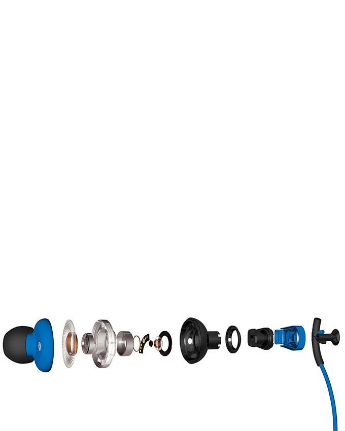 Pump Boost Headphones - Blue