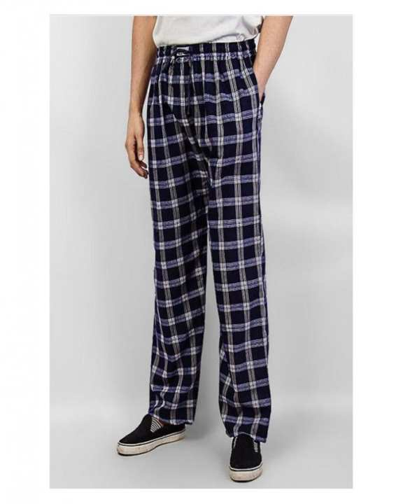 Men's Cotton Checkered Trousers - A&F-TR01