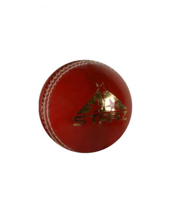 Avenger Leather Cricket Ball - Red