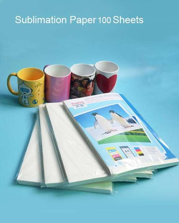 Sublimation Paper For Mug Printing  a4 Size 100 Sheets