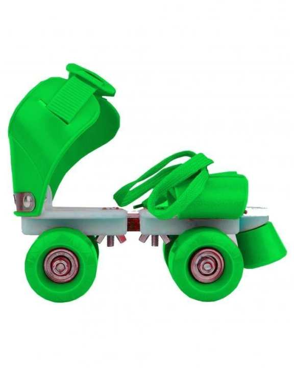 Pair of Skates for Kids - Adjustable - Green