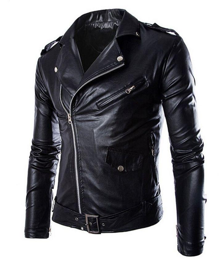 1c4c21652 Black Leather Jacket For Men