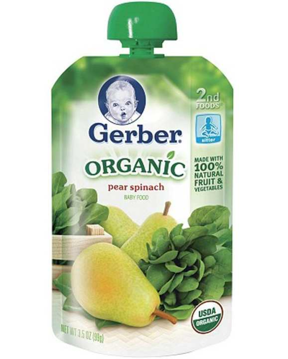 Organic 2rd Pears And Spanish Baby Food