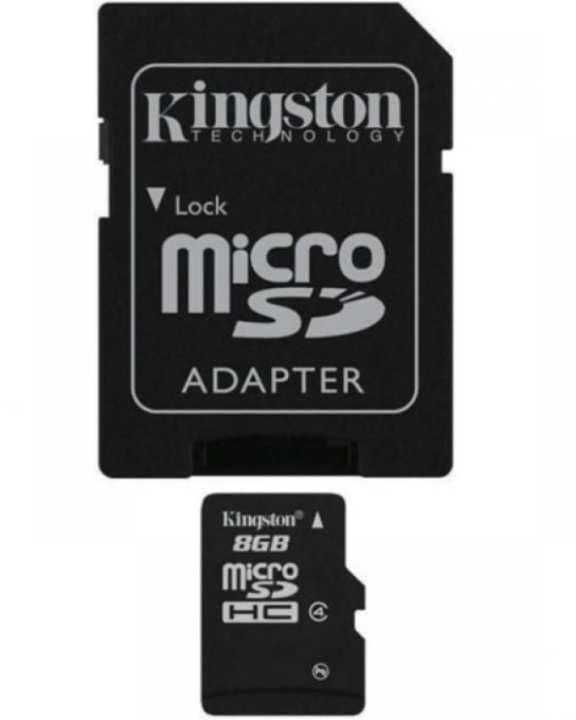 8GB Micro SD Card - Black