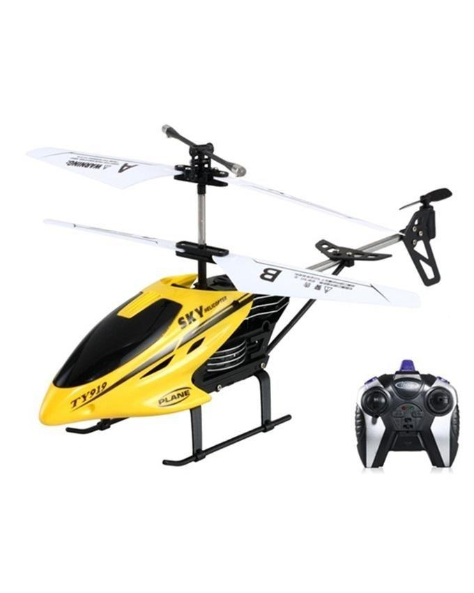 2-channel Flying helicopter ? TY-919 - Yellow