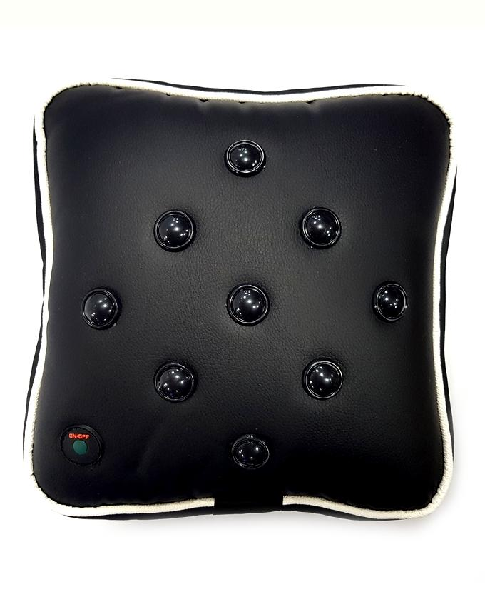 Multi Massage Pillow With Chargeable Battery - Black