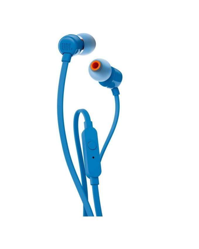 JBLT110BLUE - T110 In-Ear Headphones - Blue