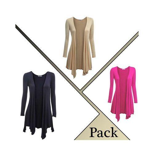 Pack Of 3 Long Shurgs For Women
