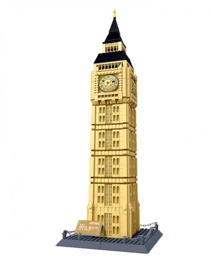 Big Ben London Building Blocks - Multicolor