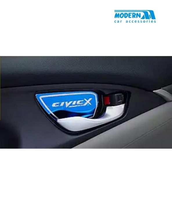 Honda Civic Interior Door Handle Bowl Trim Blue - Model 2016-2017