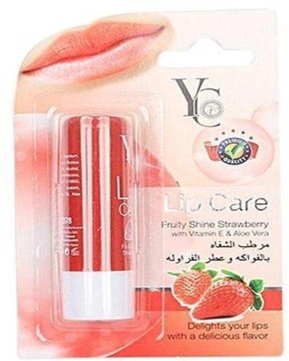 Fruity Shine Strawberry Lip Balm