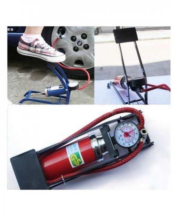 Car & Bike Foot Air Pump Tyre Infiltrator