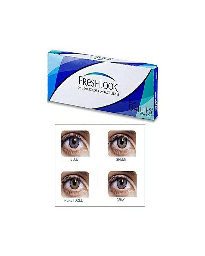 78bca70145b15 4 Pair Pack of FreshLook - 3 Tone - Contact Lenses - 4 Different Colors With