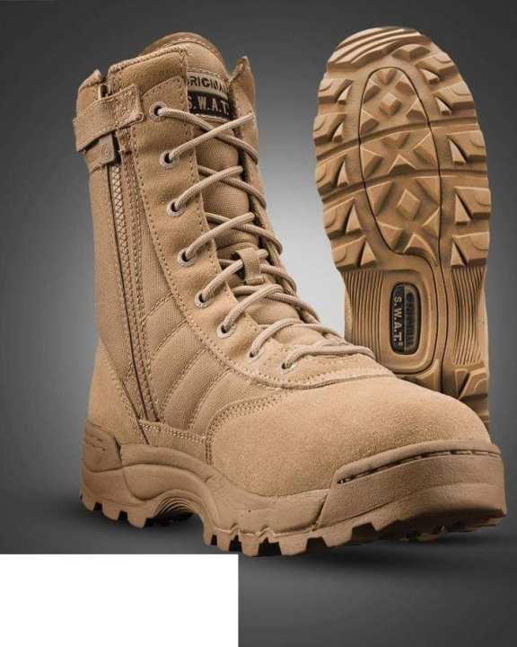 Swat  Boots - Brown