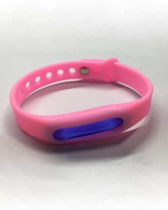 Mosquito Repellent Wrist Band - Pink