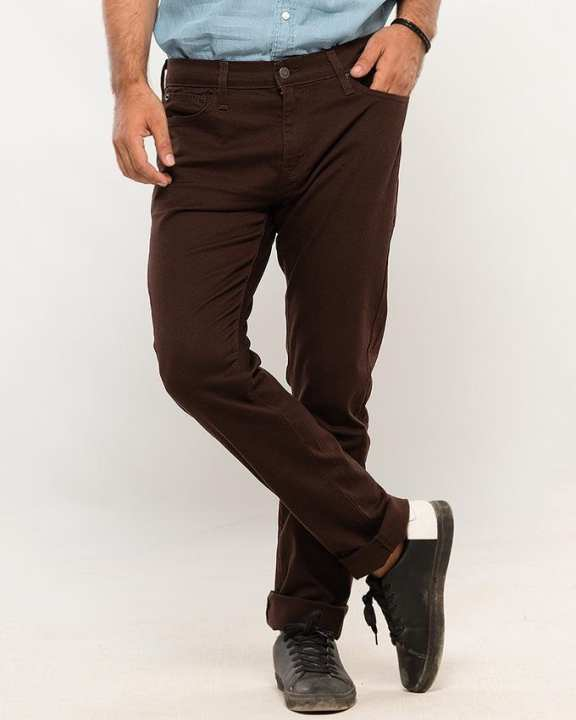 Skinny Fit 5 pocket Non-Denim  - Flash Sale Exclusive Online Price