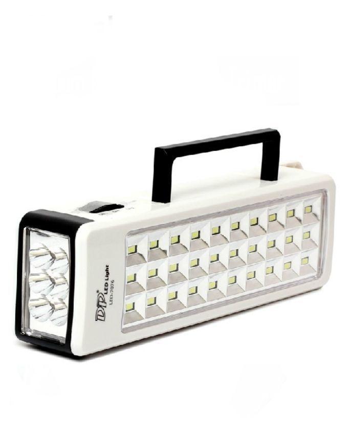 LED 7076 - LED Rechargeable Emergency Light - White