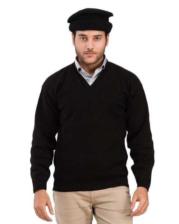 Pakol Pashtun Cap - Black
