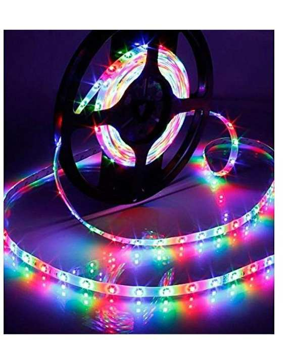 RGB Remote Control LED Strip Light - Complete Kit