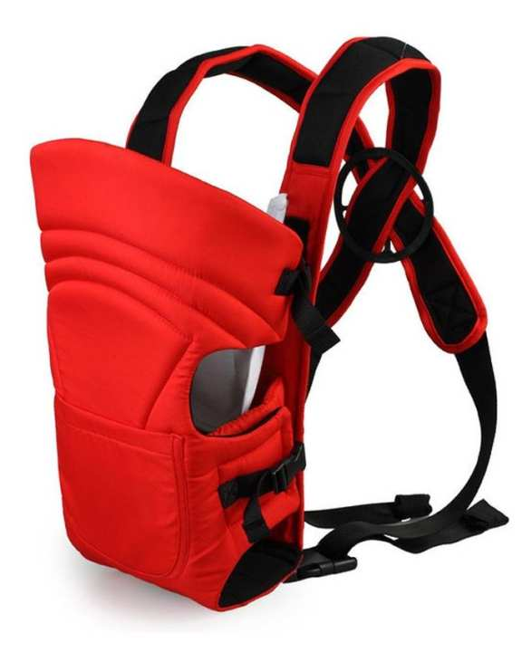 2 In 1 Baby Carrier Bag - Red