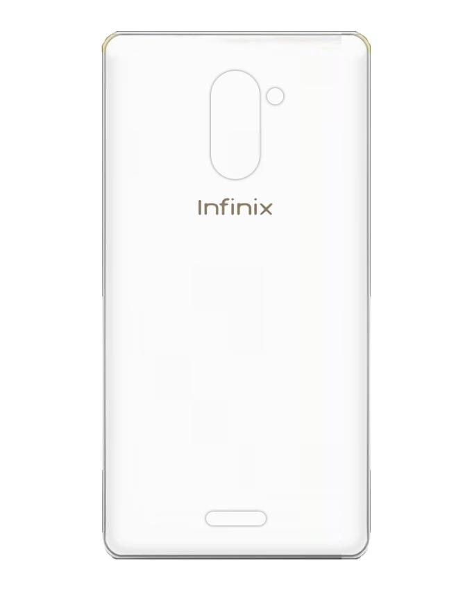Premium Silicon Jelly TPU Cover with INFINIX LOGO For INFINIX HOT 4 X557