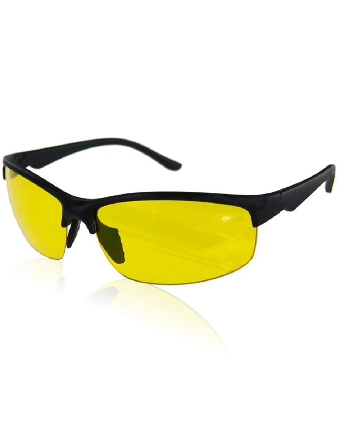 HD Night Vision Day Glasses High Definition Driving Yellow Lens