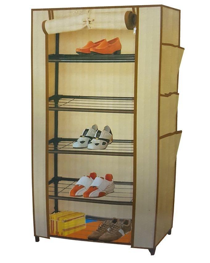 GD-6688 - Shoe Rack & Wardrobe - Beige
