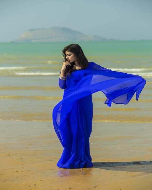 Stitched Designer Saree