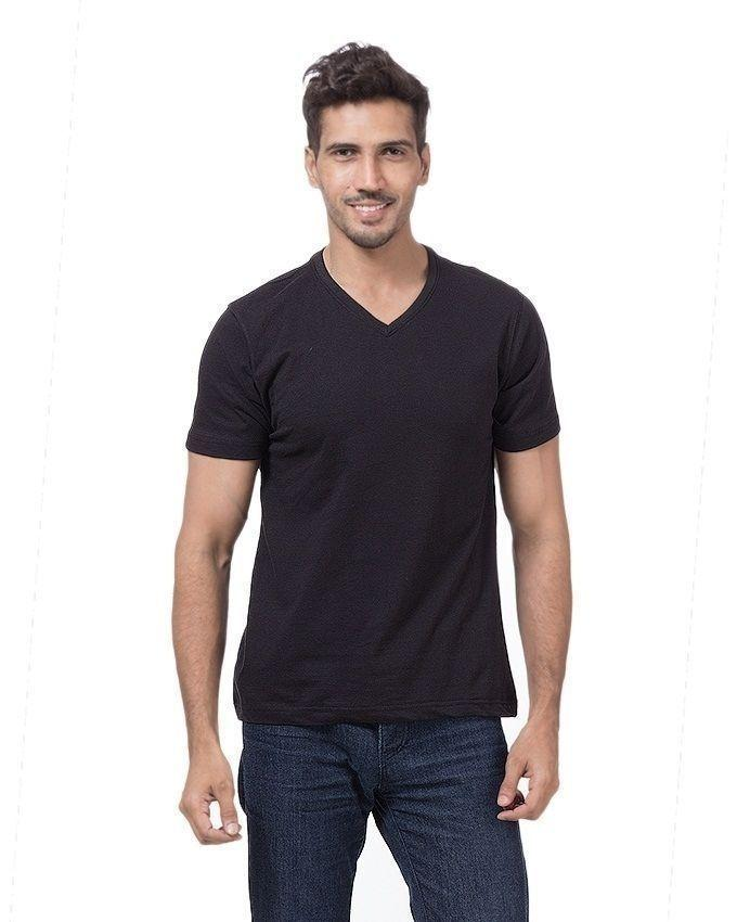 Pack of 5 - Multicolor Cotton T-Shirt For Men