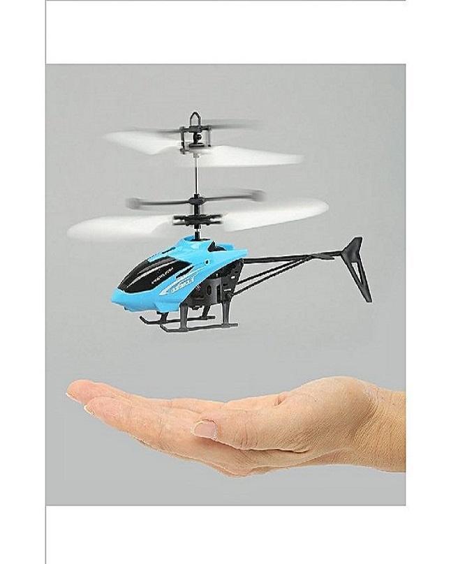Flying Helicopter (Hand Sensor) Blue & Black
