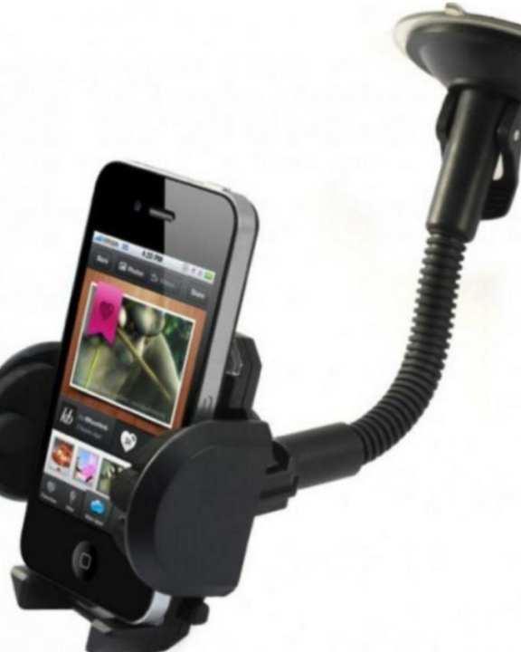 Best Universal Mobile Holder for Car & Desk - Black