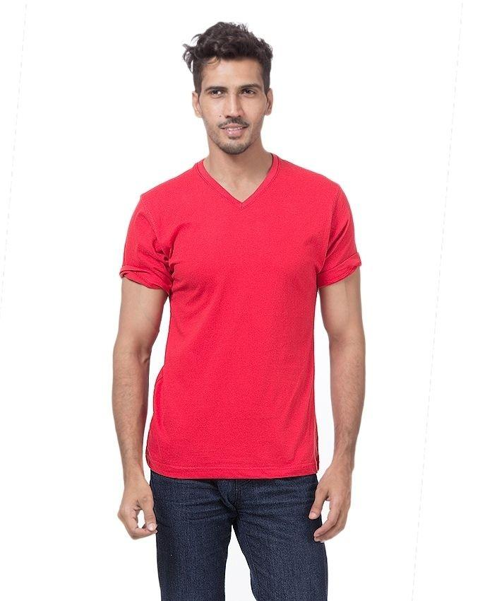 Pack Of 5 - Multicolor Cotton T-Shirt For Men