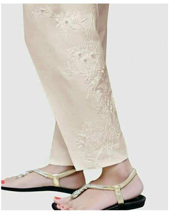 Skin Cotton Pants For Women