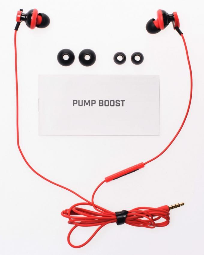 Pump Boost Headphones - Red
