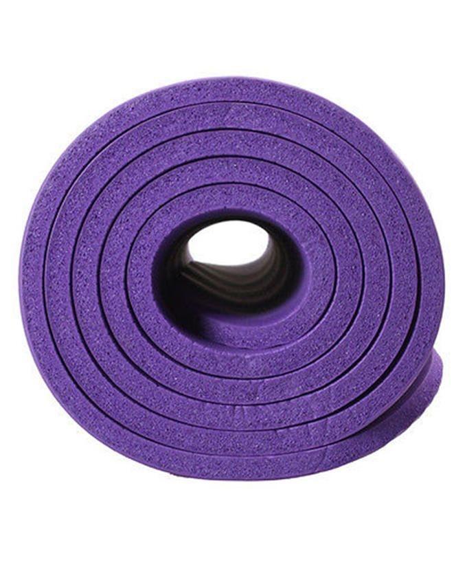 Yoga Exercise Mat - 8 mm - Purple