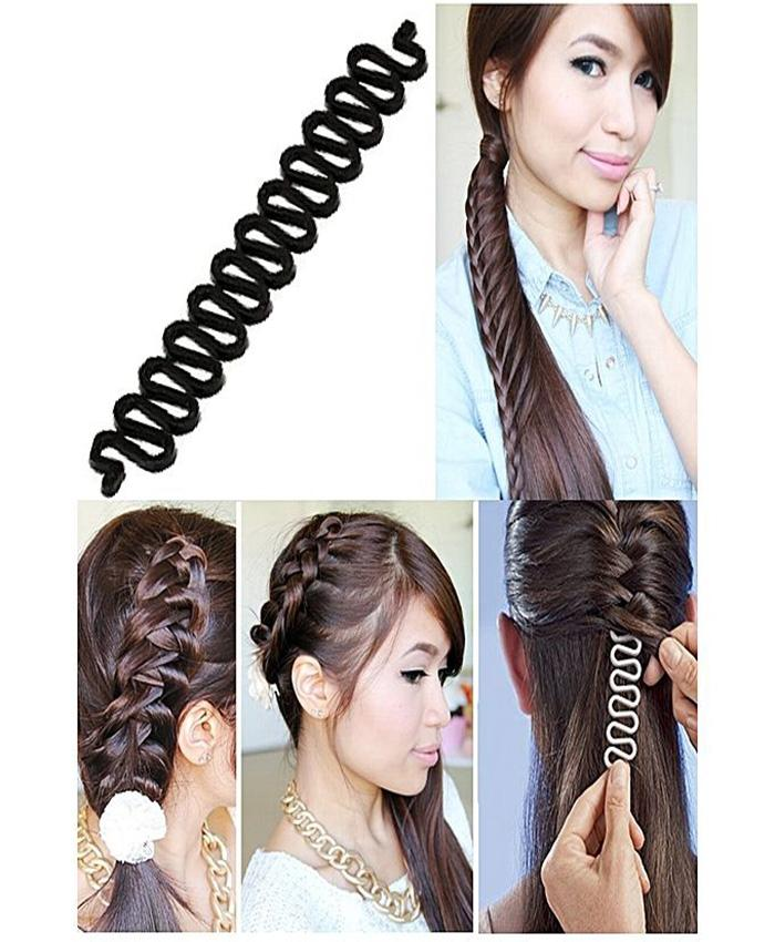 French Hair Styling Clip Stick Bun Roller Curler Braid Tool Buy