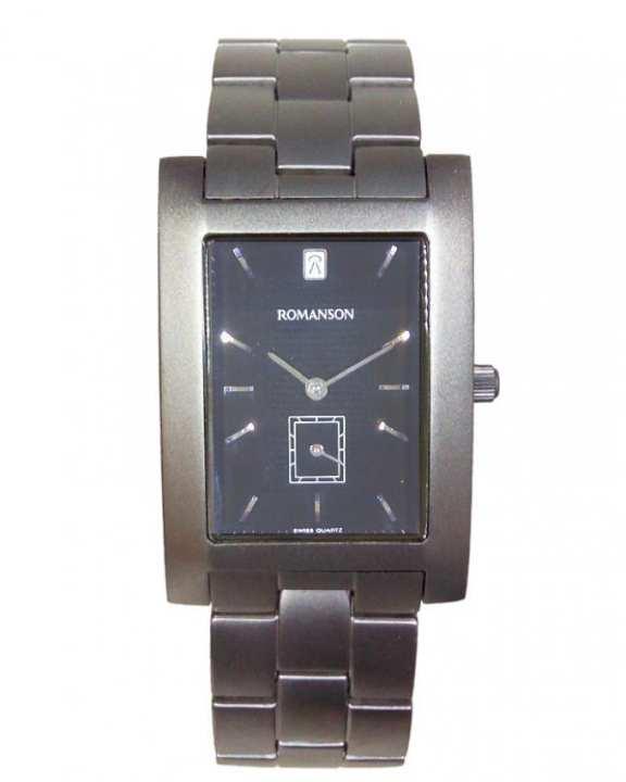 Romanson UM0589N MW GR - Titanium Wrist Watch for Men - Romanson - UM0589N MW GR