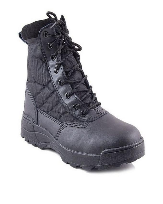 Black Swat Boots for Men