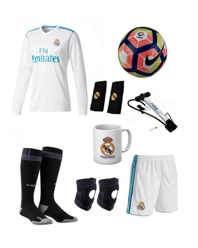 c67b93c1c2a Pack Of 9 Real Madrid Home Kit With Accessories Xl