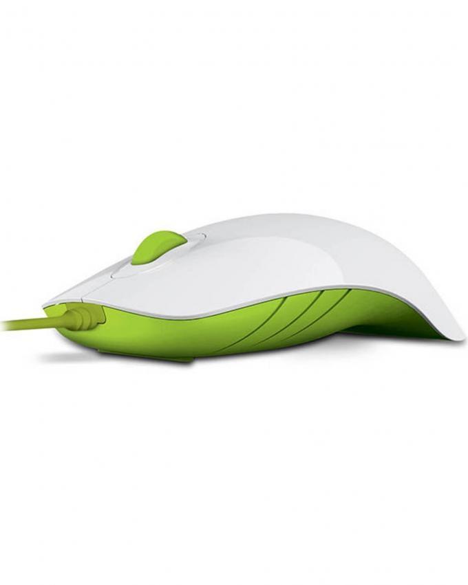 Shark USB Mouse - White & Green