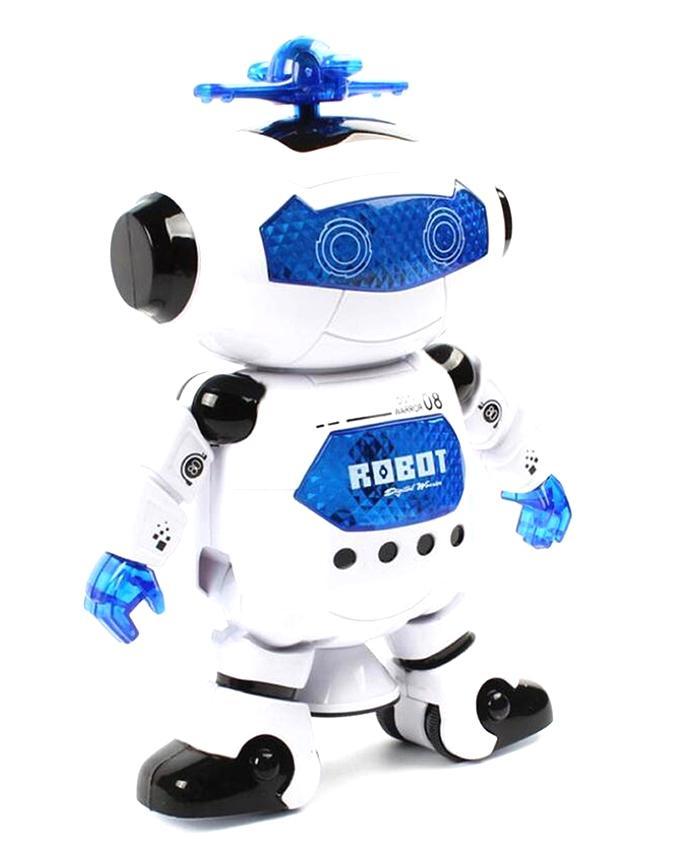 Dancing Robot - White