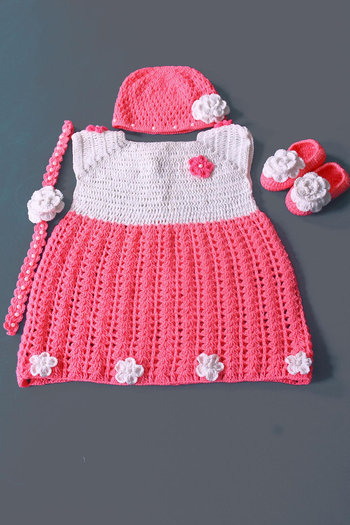 8ead2d2bb700 Crochet Baby Dress Online Pakistan