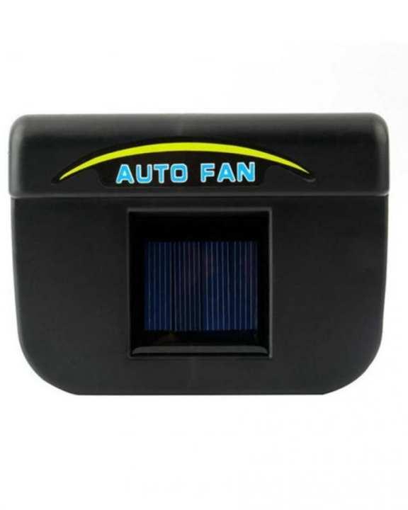 Car Solar Ventilation System - Black