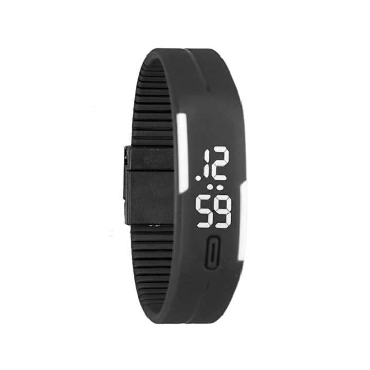 Sports Style Digital LED Watch Bracelet for Men and Women